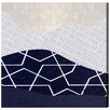 Oliver Gal Artana Waves Graphic Art Wrapped on Canvas