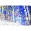 Oliver Gal Canyon Gallery Vail Trees Graphic Art Wrapped on Canvas