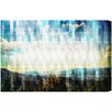 Oliver Gal Geometrical Landscapes by Canyon Gallery Graphic Art Wrapped on Canvas
