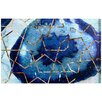Oliver Gal Raw Earth Blue by Canyon Gallery Graphic Art Wrapped on Canvas