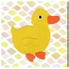Oliver Gal Duck Kingdom by Olivias Easel Graphic Art Wrapped on Canvas