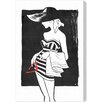 Oliver Gal 'Hello Doll' Graphic Art Wrapped on Canvas