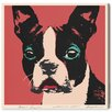Oliver Gal Doggy Warhol by Art Remedy Graphic Art Wrapped on Canvas