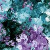 Oliver Gal Amethyst Love Art Print Wrapped on Canvas
