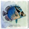 Oliver Gal 'Croissant Fish' Graphic Art Wrapped on Canvas