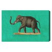 Oliver Gal 'Elephant II' Graphic Art Wrapped on Canvas