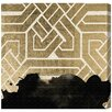 Oliver Gal 'Introspect Deco' by Art Remedy Graphic Art Wrapped on Canvas