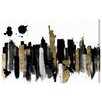 Oliver Gal 'Glamorous New York' by Art Remedy Graphic Art Wrapped on Canvas