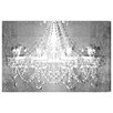 Oliver Gal 'Dramatic Entrance Chrome' by Art Remedy Graphic Art Wrapped on Canvas