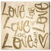 Oliver Gal Love Wild' by Art Remedy Typography Wrapped on Canvas
