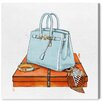 Oliver Gal 'My Bag Collection I' by Art Remedy Art Print Wrapped on Canvas