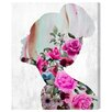 Oliver Gal 'Flower Built' by Art Remedy Graphic Art Wrapped on Canvas