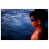 Oliver Gal 'Taking on the Sea' by Tal Paz-Fridman Photographic Print Wrapped on Canvas