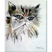 Oliver Gal 'Gato Misifu' by Manuel Roman Art Print Wrapped on Canvas