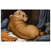 Oliver Gal 'Grande Bulldog-alisque' by Carson Kressley Graphic Art Wrapped on Canvas