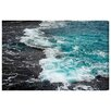 Oliver Gal 'Dor HaBonim Beach Reserve II' by Tal Paz-Fridman Photographic Print Wrapped on Canvas