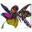 Oliver Gal 'Wild Orchid' by Manuel Roman Graphic Art Wrapped on Canvas
