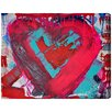 Oliver Gal 'Messy Love' by Tiago Magro Art Print Wrapped on Canvas