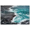 Oliver Gal 'Dor HaBonim Beach Reserve I' by Tal Paz-Fridman Photographic Print Wrapped on Canvas