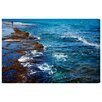 Oliver Gal 'Sdot Yam Beach' by Tal Paz-Fridman Photographic Print Wrapped on Canvas