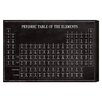 Oliver Gal 'Periodic Modern Table' by Art Remedy Graphic Art Wrapped on Canvas