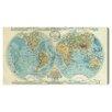 Oliver Gal 'Hemispheres Mapamundi' by Art Remedy Graphic Art Wrapped on Canvas