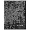 Oliver Gal 'Los Angeles Map 1899 Grey' by Art Remedy Graphic Art Wrapped on Canvas