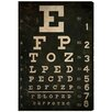 Oliver Gal 'Eye Test' by Art Remedy Typography Art Wrapped on Canvas