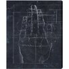 Oliver Gal 'Dürer Hand Engraving 1513' by Art Remedy Graphic Art Wrapped on Canvas