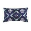 Blissliving Home Aspen Dillon Decorative Silk Dupioni Lumbar Pillow