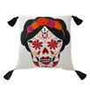 Blissliving Home Mexico City Craneo Cotton Throw Pillow
