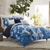 Blissliving Home Mexico City Casa Azul 3 Piece Duvet Set