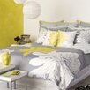 Blissliving Home Abu Dhabi Ashley Citron 3 Piece Duvet Set