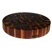 John Boos BoosBlock Round Walnut Butcher Block Cutting Board