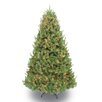Puleo International 7.5' Green Spruce Artificial Christmas Tree with 800 Clear & White Lights with Stand