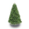 Puleo International 7.5' Green Fir Artificial Christmas Tree with Stand