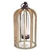 Melrose International Wood Lantern