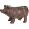 Pig Magnesia Statue Planter - Melrose Intl. Planters