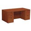 OSP Furniture Napa Double Pedestal Executive Desk