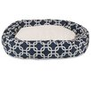 Majestic Pet Products Links Sherpa Bagel Bolster Pet Bed