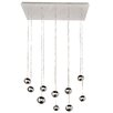 ET2 Polaris 10 LED Integrated Bulb Cascade Pendant