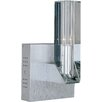 ET2 Alpha-V Wall Sconce in Brushed Aluminum