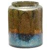 A&B Home Tri Color Glass Jar