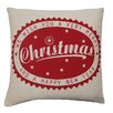 House Additions Christmas Polyester / Cotton Throw Pillow