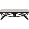 David Francis Furniture Bridgeport Rattan Bench