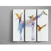 Schuller Jirafas 3 Piece Art Print Set (Set of 3)