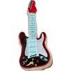 Zoomie Kids Quintin Guitar Throw Pillow
