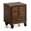 Borough Wharf Ridgecrest 4 Drawer Bedside Table