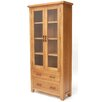 Home Etc Hadleigh Solid Oak Display Cabinet