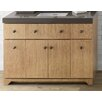 """Ronbow Amberlyn 24"""" Bathroom Vanity Cabinet Base in Vintage Honey"""